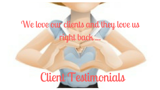 We love our clients.